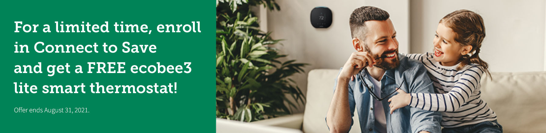 Homepage Carousel Banner - NCEMC - Ecobee Promotion