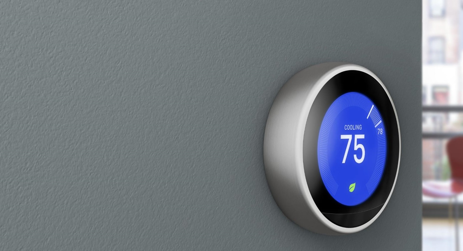 Nest thermostat_gray wall3
